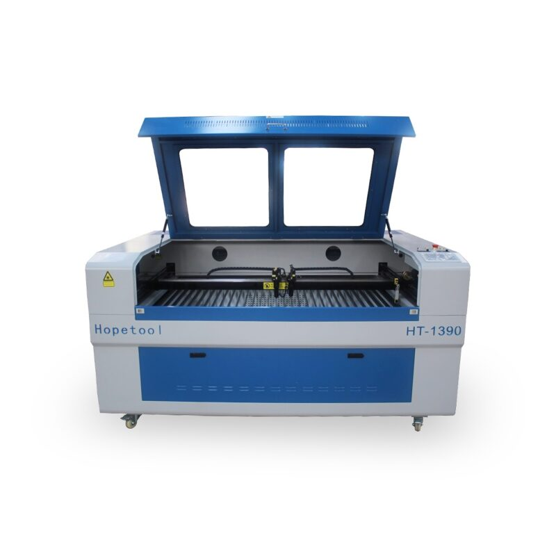 Two heads laser cutting machine HT-1390